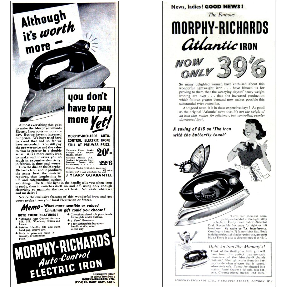 Morphy-Richards-Adverts