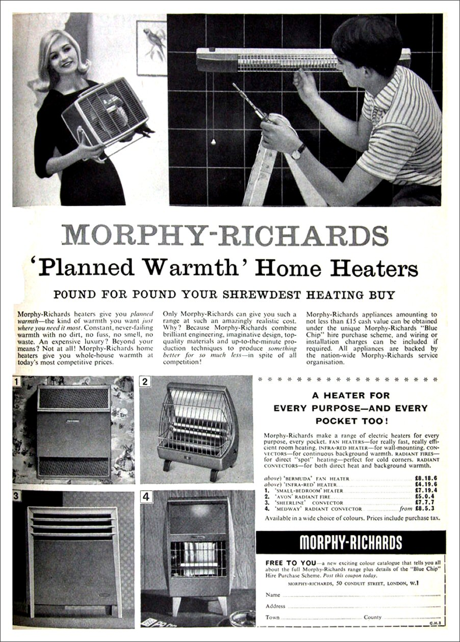 Morphy-Richards Heater Advert