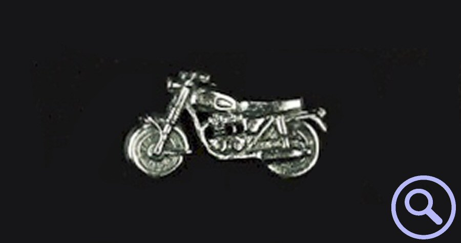 World of Transport - Motorcycle Pin Badge