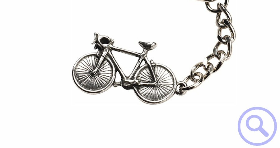 World of Transport - Bicycle Key Ring