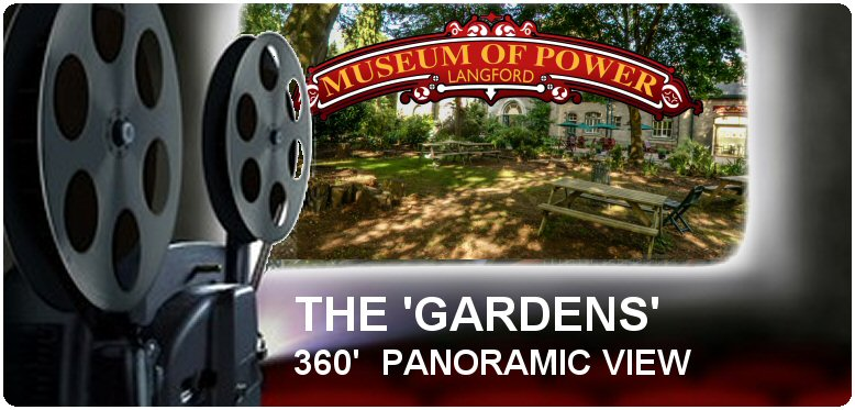 Panoramic View of the Museum of Power's Gardens