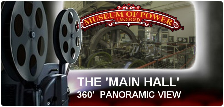 Panoramic View of the Museum of Power's Main Hall